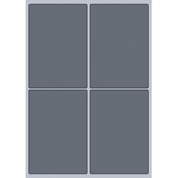 Rectangle Label - 97x140mm (4/Sheet)