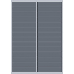 Rectangle Label - 97x20mm (28/Sheet)