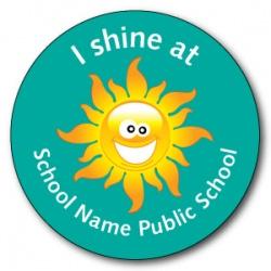 I Shine / I'm a Star at - Sticker