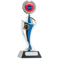 Twist Trophy - Blue/Silver
