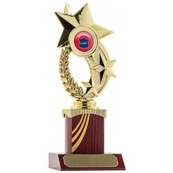 Star Wreath Trophy - Rosewood