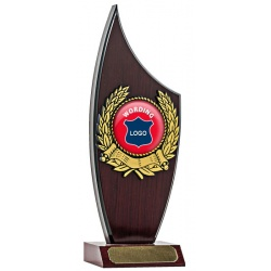 Fin Back Trophy - Rosewood