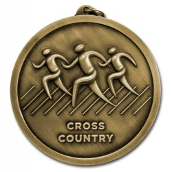 Cross Country 60mm Medal