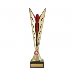 Gold Silhouette Cup - Red