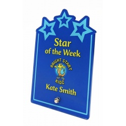 Sparx Plaque Full Colour Stars