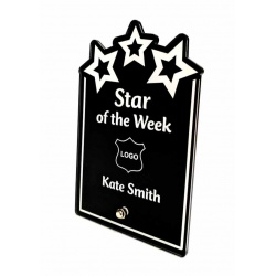 Sparx Plaque Engraved Stars